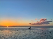 14th Jan 2020 - Paddle for two in the sunset.