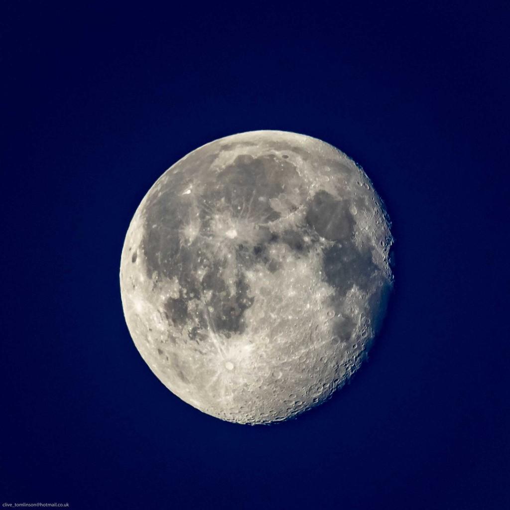 Moon Setting  by padlock
