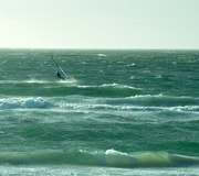 13th Jan 2020 - Wind surfing on a very windy day.