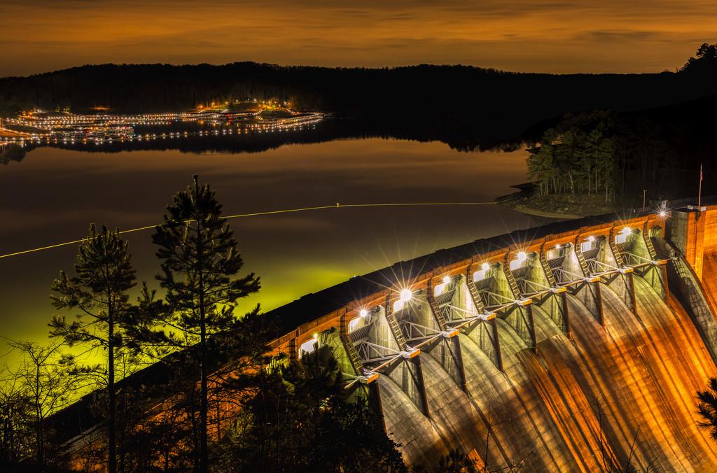 Marina & Dam by kvphoto