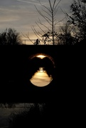 11th Jan 2020 - Leipzig, bridge at sunset
