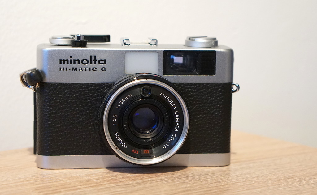 My First Ever Film Camera - Minolta Hi Matic G by phil_howcroft