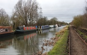 14th Jan 2020 - Barges on the Chesterfield Canal