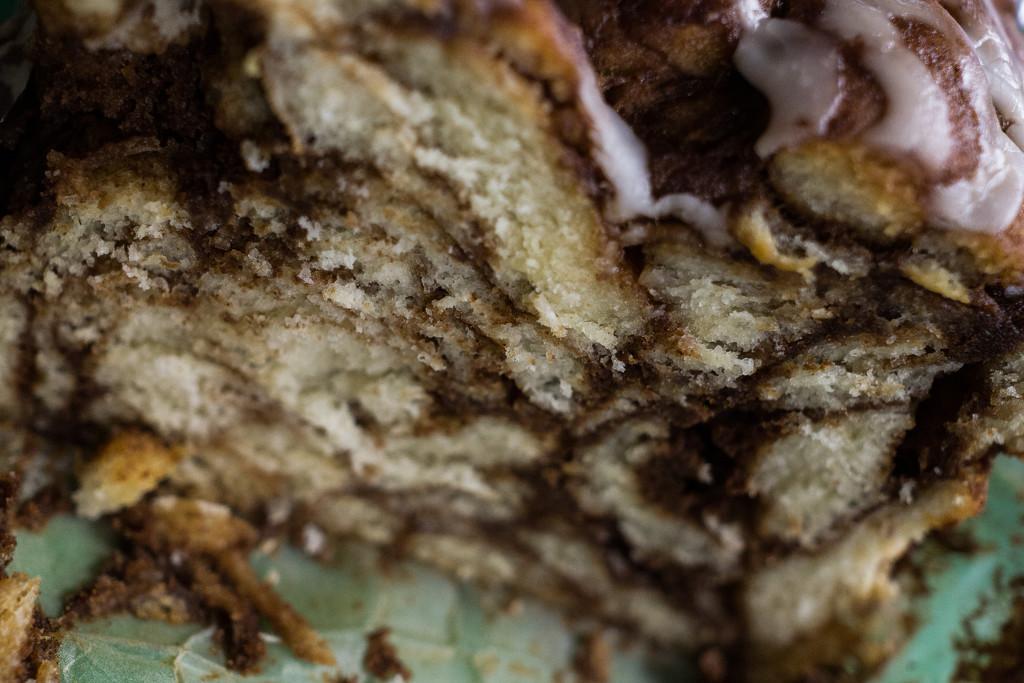 Ooey gooey cinnamon swirl cakey bread by cristinaledesma33