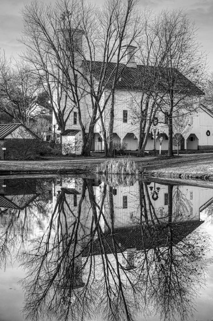 Winter Reflections by ggshearron
