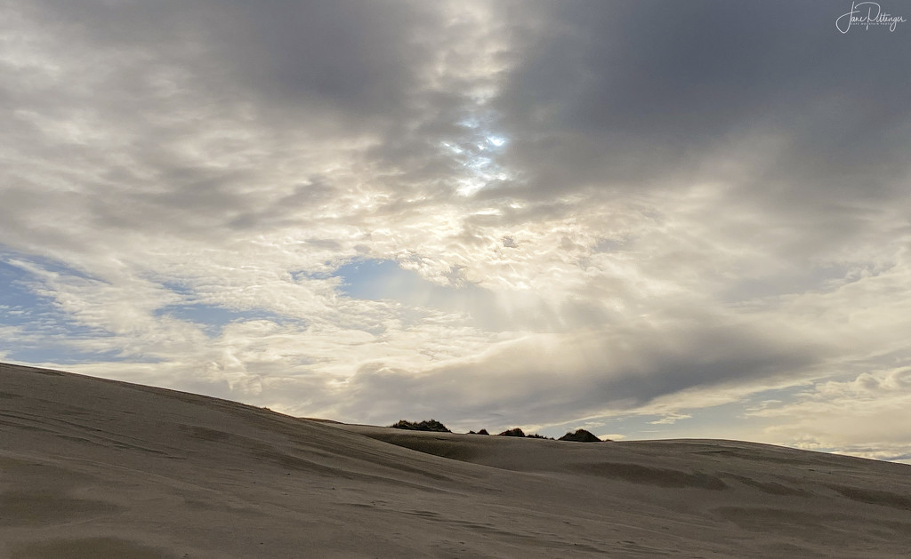 Rays Over the Dunes by jgpittenger