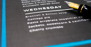17th Jan 2020 - Weekly menu