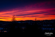 17th Jan 2020 - Sunset from my porch