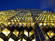 14th Jan 2020 - the gold building at blue hour