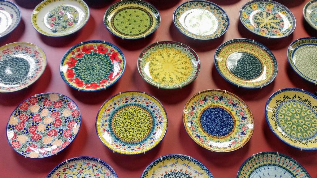 Polish Pottery Plates by harbie