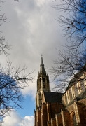 """18th Jan 2020 - View on the """" New Church"""", Delft"""