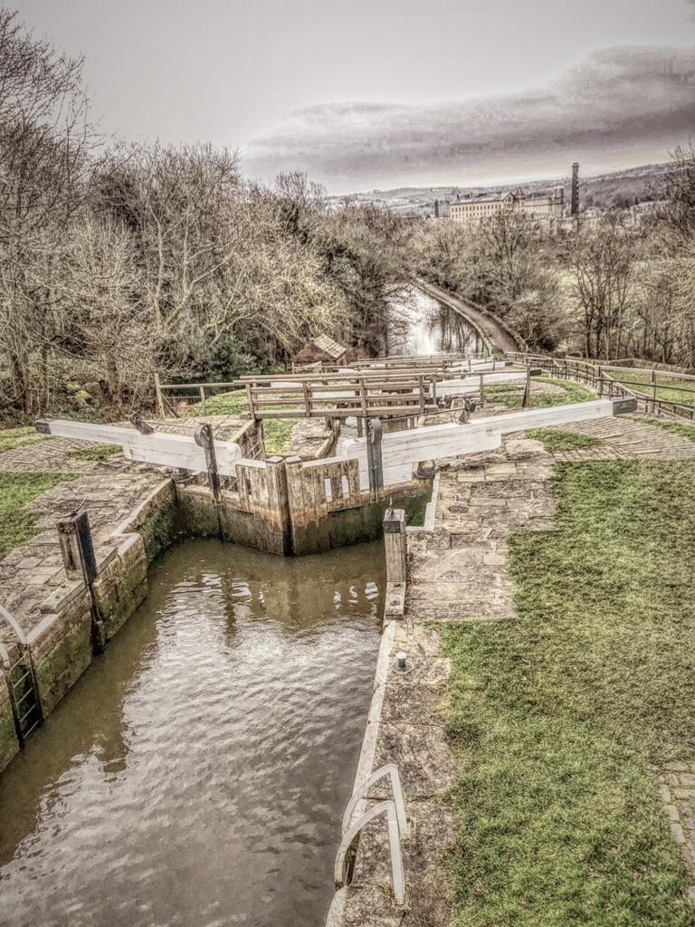 Bingley 5 locks by mv_wolfie