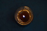 18th Jan 2020 - Favorite Woodwick Candle, from above