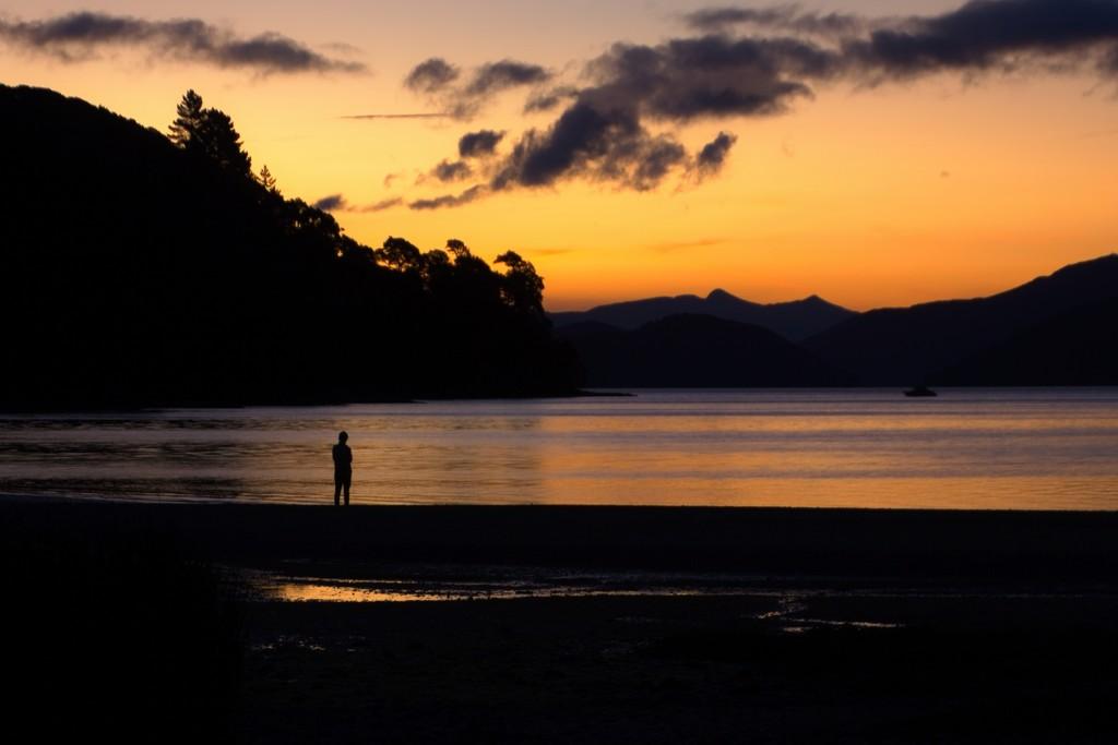 Solitude by kiwinanna