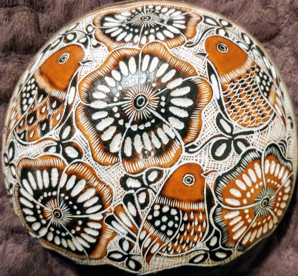 Gourd Painting by harbie