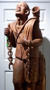 20th Jan 2020 - Oak Sculpture of a freed slave