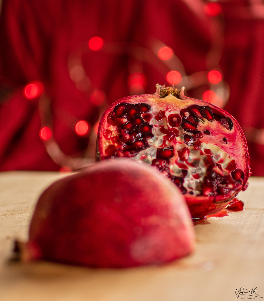 Pomegranate by yorkshirekiwi