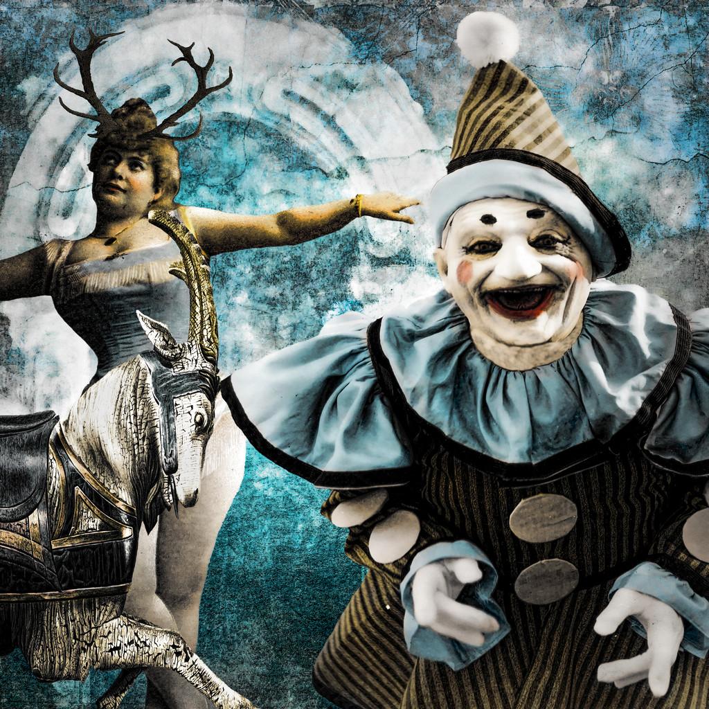 The Dreaded Clown  by joysfocus