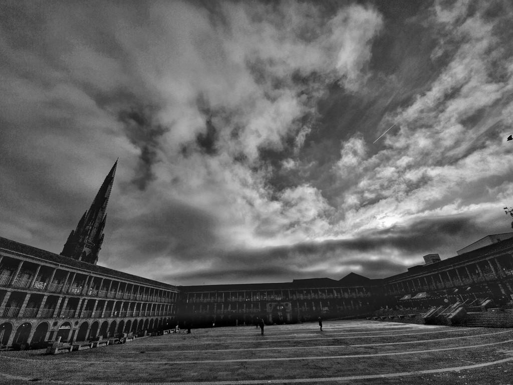 The Piece Hall, Halifax UK by isaacsnek