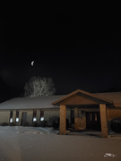 20th Jan 2020 - The Moon on the Breast of the New-fallen Snow