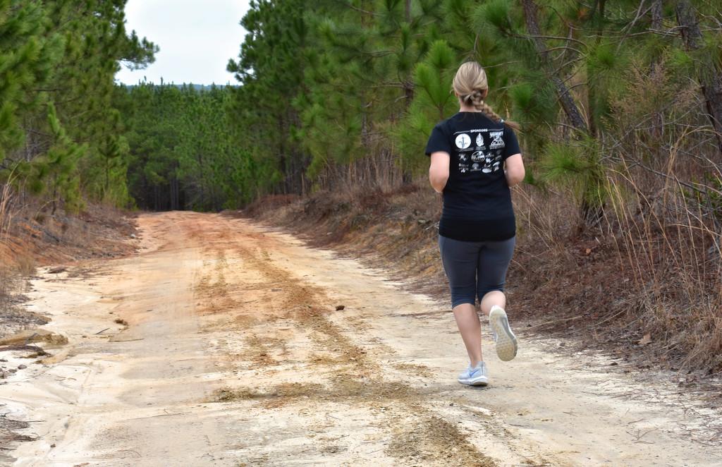Jenn, the runner by homeschoolmom