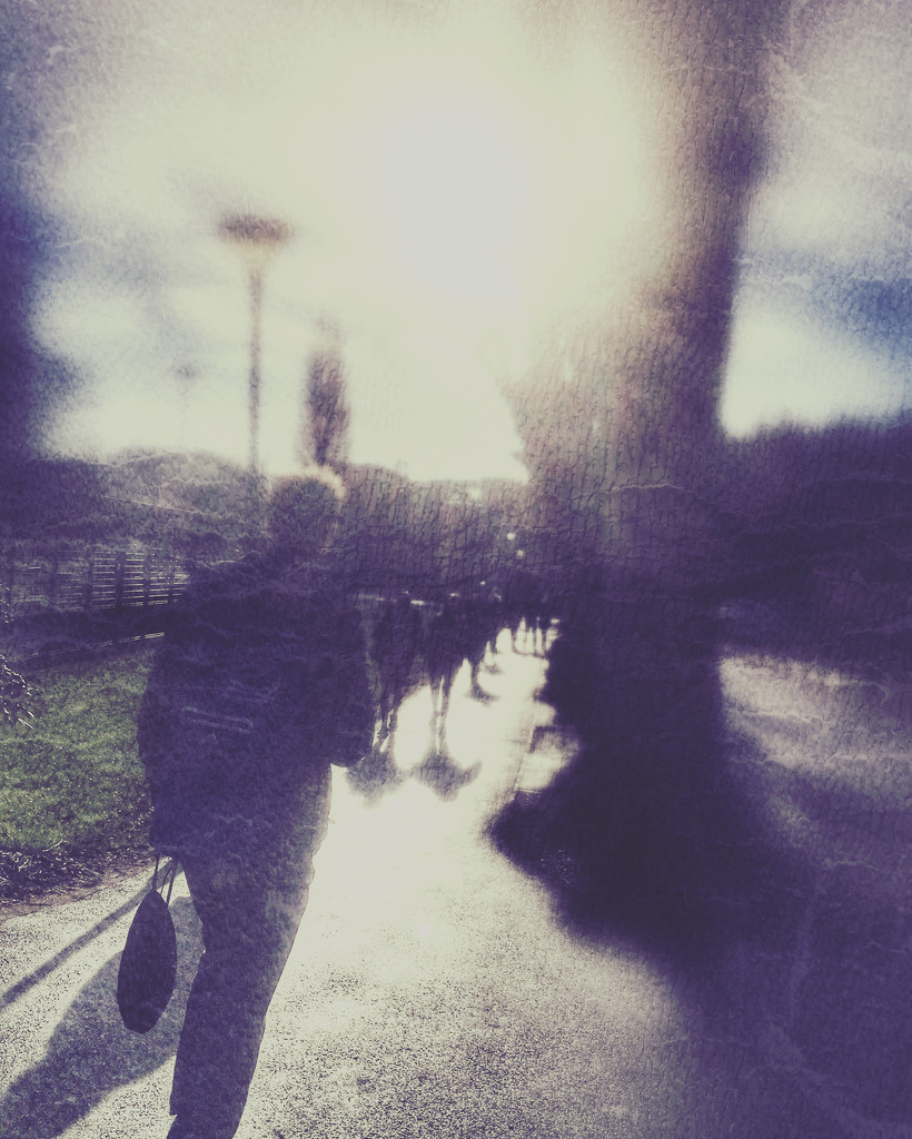Heading off campus by rachelwithey