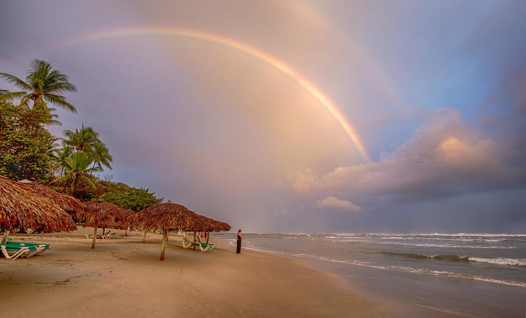 Magical Beach Rainbow by pdulis