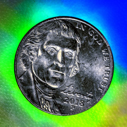 23rd Jan 2020 - Nickel for Your Thoughts