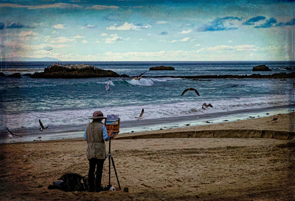 Artist By the Sea by stray_shooter