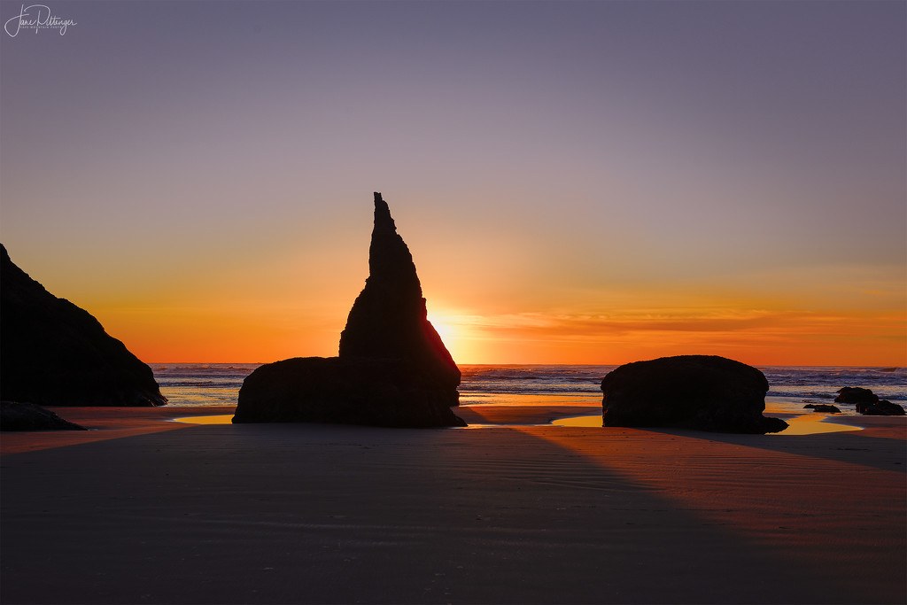 Bandon Sunset HDR by jgpittenger