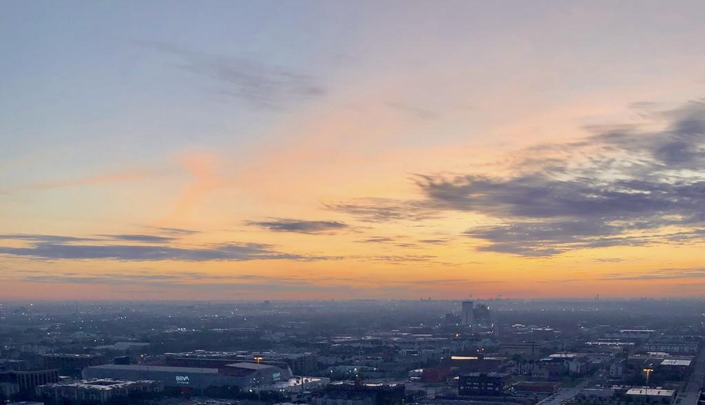 Houston Sunrise by loweygrace