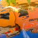 Koi Pond Abstract