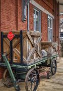 25th Jan 2020 - Cartersville Mail Cart