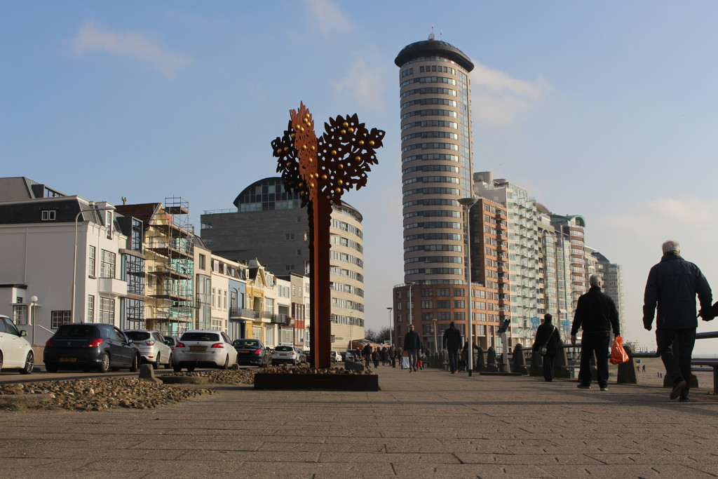Boulevard of the city of Vlissingen this afternoon. by pyrrhula