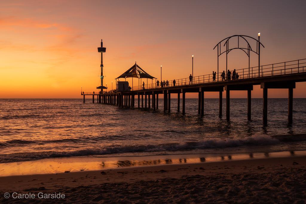 Brighton Beach Pier by yorkshirekiwi