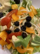 27th Jan 2020 - Salad with Olive Oil & White Balsamic