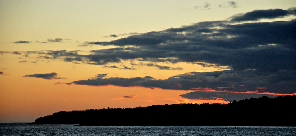 Sunset over Wing's Neck by sailingmusic
