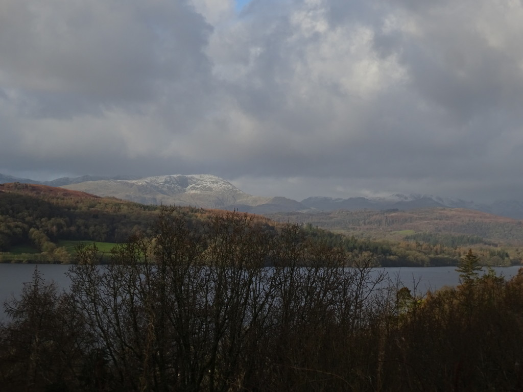 snow on the tops by anniesue