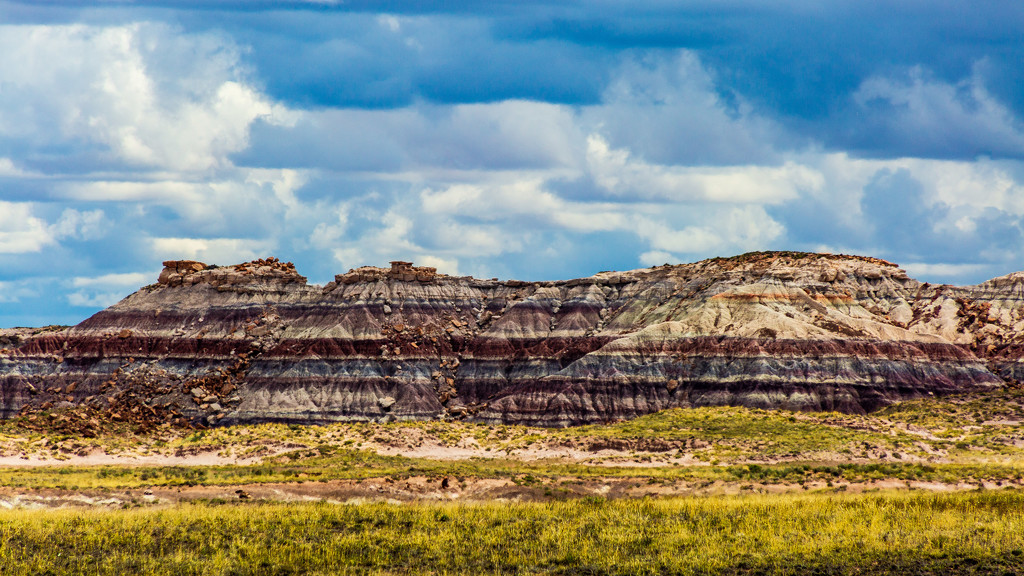 Landscape View of the Painted Desert by photograndma