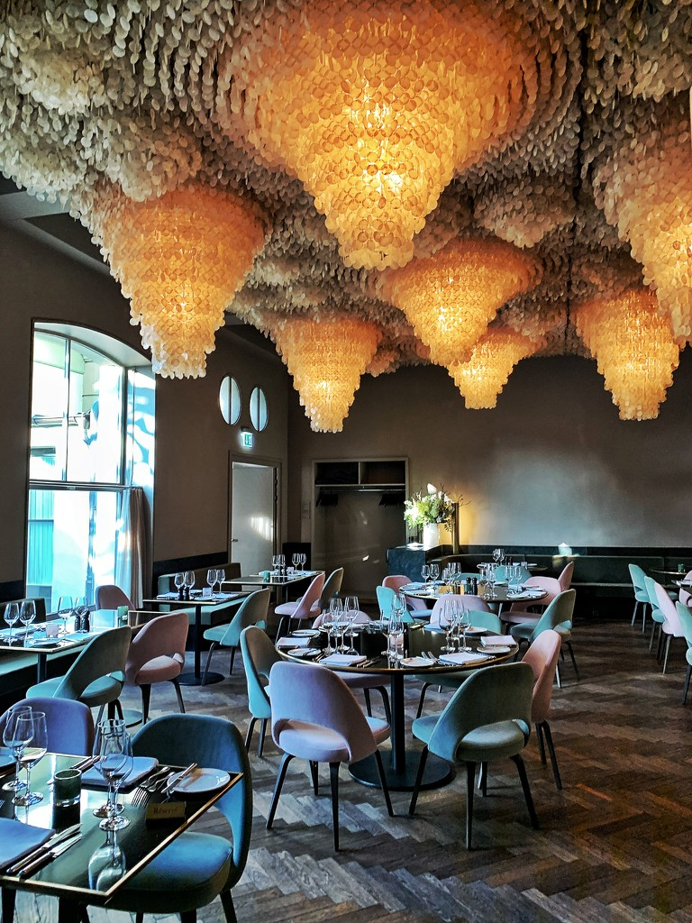 A restaurant with a ceiling! by cocobella