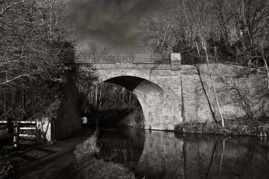 Skew Bridge - and Mrs S... by vignouse