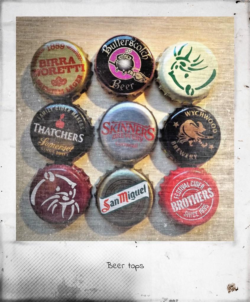 Beer Tops by ajisaac
