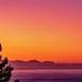 Sunset over False Bay by ludwigsdiana