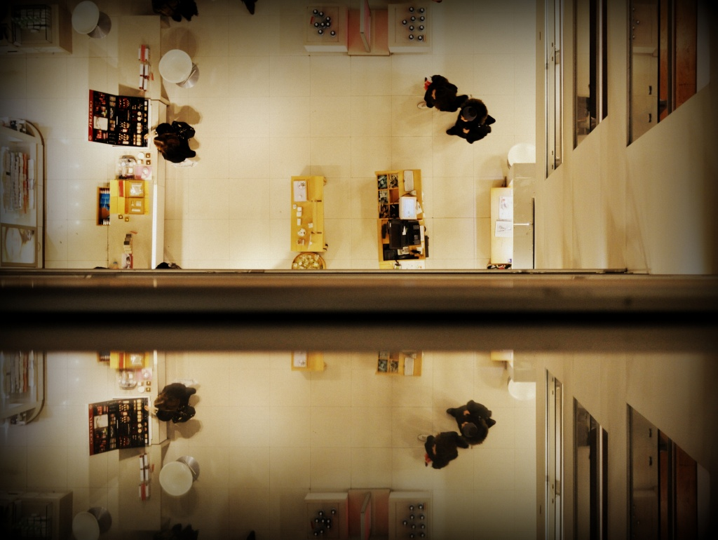 Reflecting Whilst Shopping by andycoleborn
