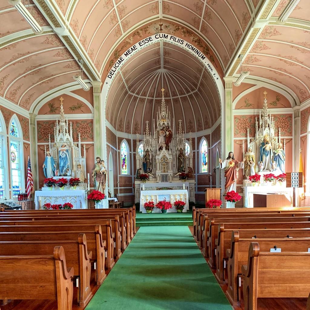 St John the Baptist Painted Church in Schulenburg, Texas by louannwarren