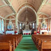 30th Jan 2020 - St John the Baptist Painted Church in Schulenburg, Texas