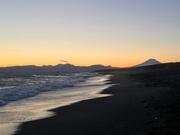 30th Jan 2020 - 2020-01-30 Sundown at Shonan with Fuji-san