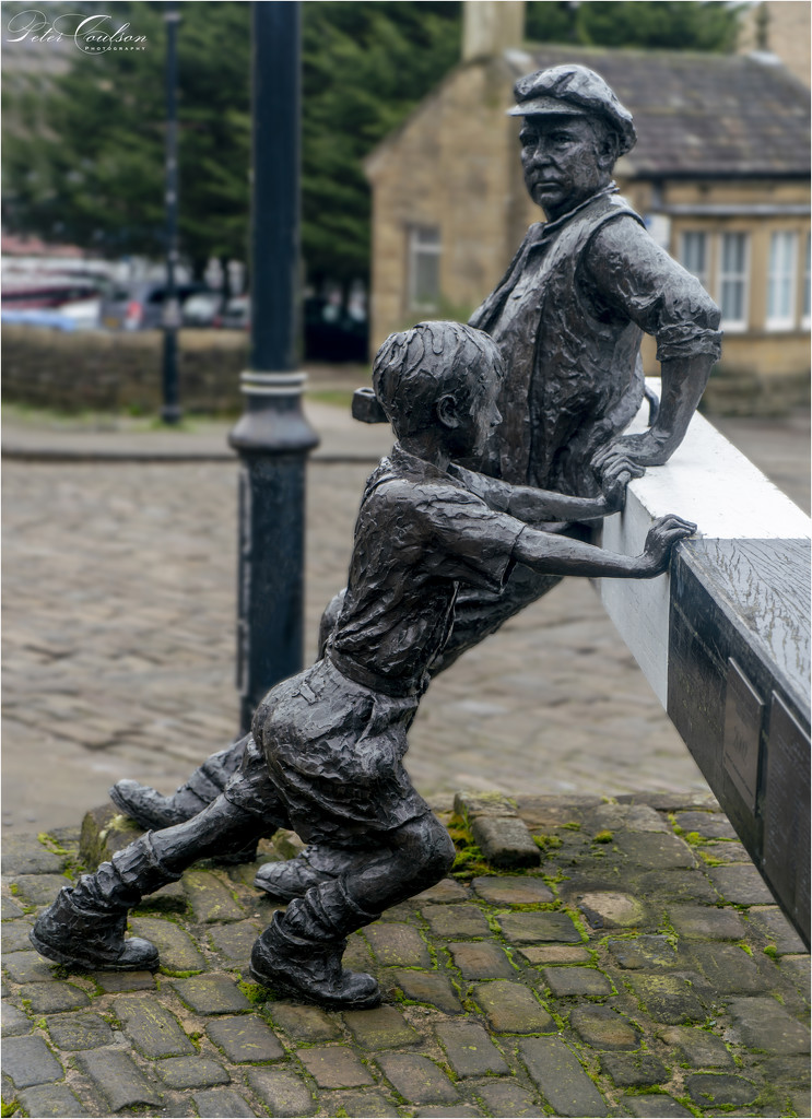 Sowerby Bridge Sculpture by pcoulson