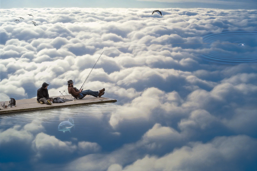 Life Above The Clouds....Life is Good! by mikegifford
