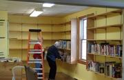 30th Jan 2020 - Church library getting put back